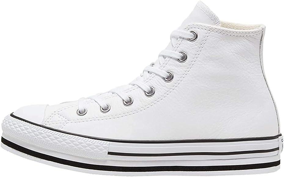 Converse Chuck Taylor All Star Move, Zapatillas para Niñas, Bianco, 35.5 EU: Amazon.es: Zapatos y complementos