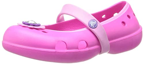 eabd72616 crocs Keeley Petal Charm PS Flat (Toddler Little Kid Big Kid)