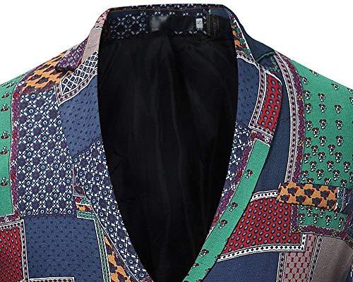 Sweat Décontracté Imprimé Slim shirt Veste Vêtements Coupe Als Bild Homme TnZB5