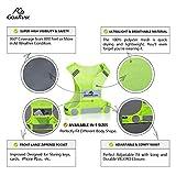 2 Pack Reflective Vest Running Gear, Ultralight