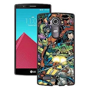 Spider Man Foes Black New Cool Custom Design LG G4 Cover Case