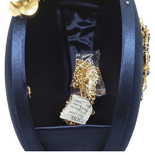 Pochette Bleu BESTWALED Femme YHB502 pour 3 Bleu Bleu 1wg6nqA
