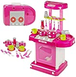 Toyhouse Kitchen Set with Light and Sound, Pink