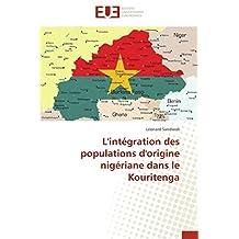 L'intégration des populations d'origine nigériane dans le Kouritenga