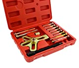 ABN 13 Piece Harmonic Balancer Steering Wheel Puller Kit