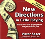 New Directions in Cello Playing, Victor Sazer, 0944810039