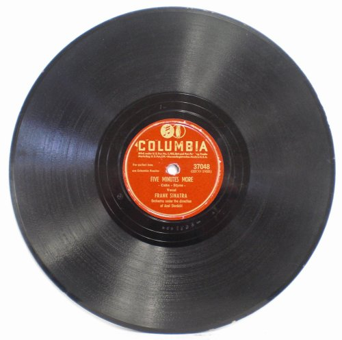 - Five Minutes More / How Cute Can You Be? by Frank Sinatra on Columbia 78 RPM Record