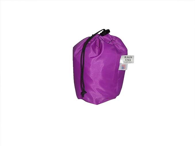 Small Ultralight Mesh Stuff Sack Drawstring Storage Bag Camping Outdoo 2019 E0N5
