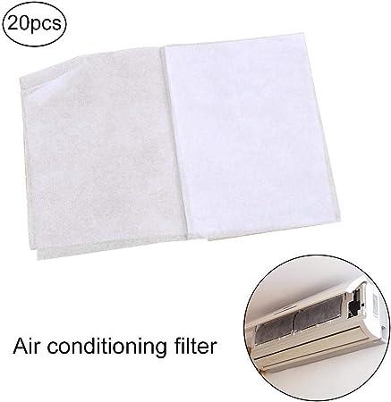 Hamkaw Filtro Aire Acondicionado, Salida de Aire Hogar Filtro de Polvo Purificación de Aire Filtro de Papel Compartimiento de Filtro Malla de Papel, Antibacteriano, Antipolvo: Amazon.es: Hogar
