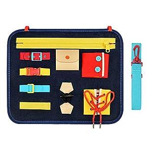 Teaisiy Busy Board pour Enfants Jouets & Cadeaux [Jouets Montessori, Jouets éducatifs, Activites Manuelles ]