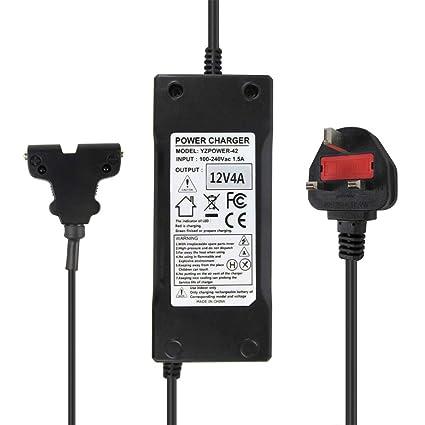 Abakoo Dynamic Smart Cargador de batería de 12 voltios 4 ...