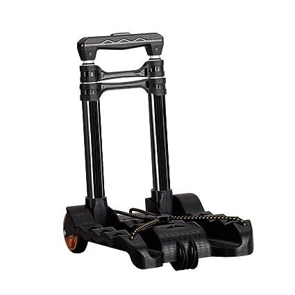 43e0ed68b5d9 Amazon.com: Luggage Cart 2 Wheels Folding Aluminum Travel Trolley ...