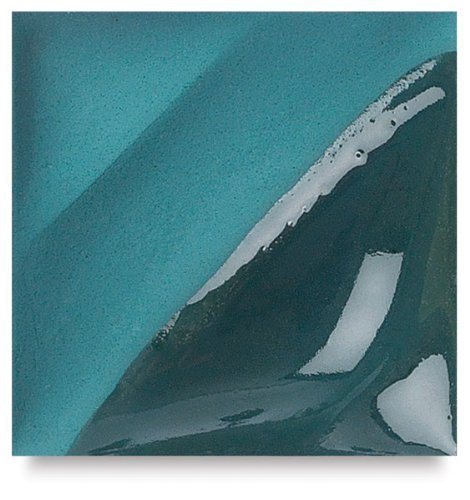 Amaco Velvet Underglaze - Pint - V-341 Blue Green by American Art Clay