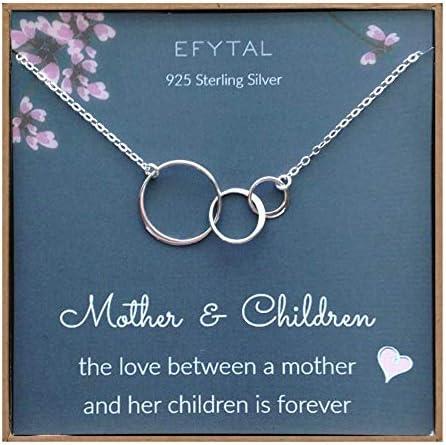EFYTAL Mom Children Necklace Interlocking product image