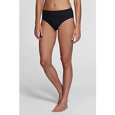 336ee1bb0d4a1 Lands' End Women's Regular Beach Living High Rise Swimsuit Bottom with Tummy  Control, 16