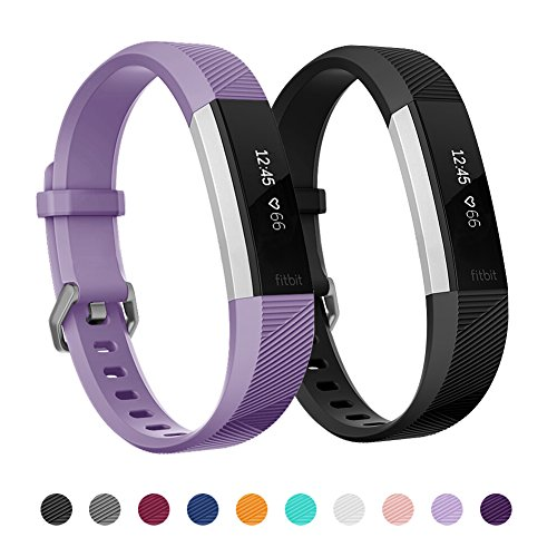 Kutop For Fitbit Alta HR Band, Silicone Adjustable Bracelet Sports Fitness Replacement Watchband for Fitbit Alta ()
