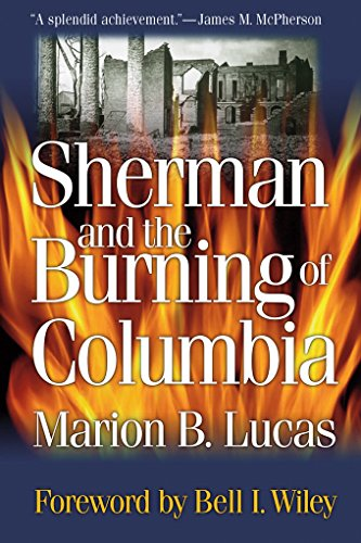 Sherman and the Burning of Columbia (Non Series) (Mounted Bale)