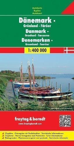 Denmark - Greenland - Faroe Islands: Denmark, Greenland, Faeroes. Citypl?e. Ortsregister mit Postleitzahlen published by Freytag-Berndt (2005)