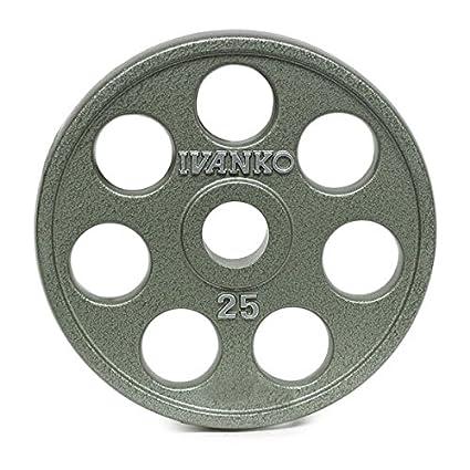 Amazon.com: Ivanko E-Z Lift – placas de olímpicos de hierro ...