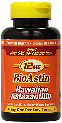 (Nutrex Hawaii Bioastin Hawaiin Astaxanthin 12mg - 120 Gel Caps)
