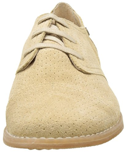 Hush Puppies Aiden, Derbys Femme Beige (Beige)