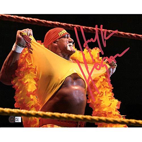 "Hulk Hogan WWE Autographed 8"" x 10"" Hulkamania Spotlight Wrestling Photograph - Autographed Wrestling Cards from Sports Memorabilia"