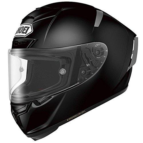 Shoei x-fourteen Negro Full Face Helmet, Negro