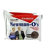 ニューマン・オー オーガニック・クリームサンドチョコレートクッキー 2個セット [並行輸入品]