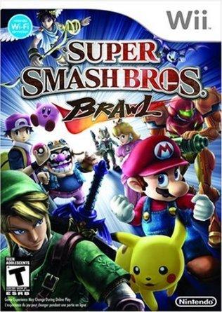 Super Smash Bros. Brawl (Nintendo Wii) - Rated T (Wii Mario Smash Bros)
