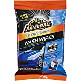 #5: Armor All 18240 Ultra Shine Wash Wipes (12 XL Wipes), 1 Pack