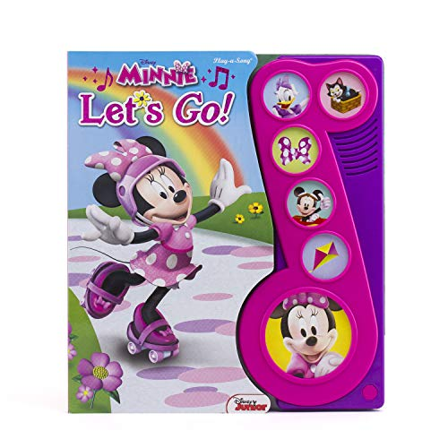 Disney Minnie Mouse - Let's Go! Little Music Note Sound Book - PI Kids (Play-A-Song) Board book – Sound Book, February 15, 2016