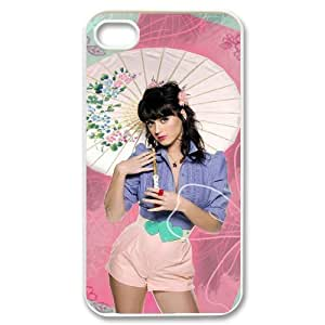 C-EUR Customized Print Katy Perry Pattern Back Case for iPhone 4/4S
