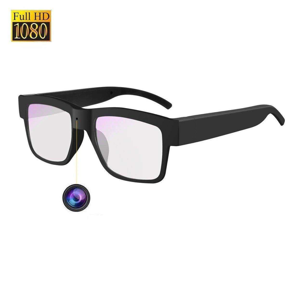 Camera Glasses HD 1080P Towero Wearable Hidden Camera Glasses