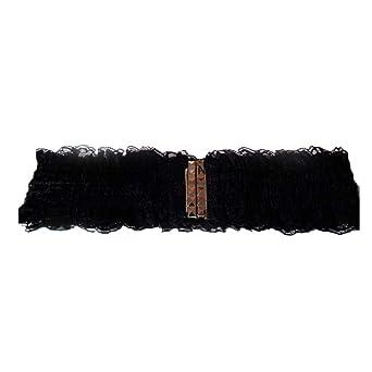 0e263ff92e5c9 Dorical Damen Vintage Gürtel mit Spitze Breiter Taillengürtel ...