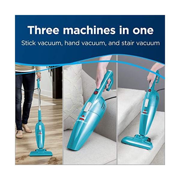 Bissell-Featherweight-Stick-Lightweight-Bagless-Vacuum-Blue