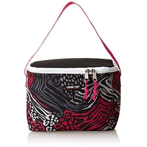 Fridge Pak Big Girls'  Print Insulated Lunch Bag, Leopard, O