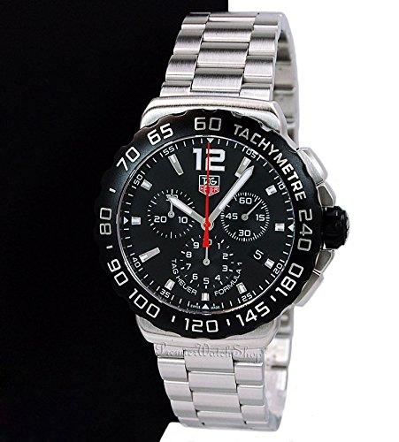 amazon com tag heuer men s cau1110 ba0858 formula 1 black dial amazon com tag heuer men s cau1110 ba0858 formula 1 black dial chronograph steel watch tag heuer watches
