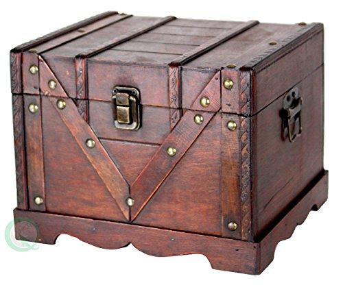 Small Wooden Treasure Box, Old Style Treasure (Wooden Treasure Box)