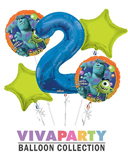 Monsters University Round Balloon Bouquet 5 pc, 2nd
