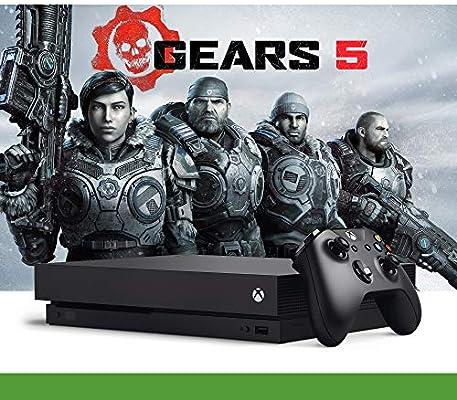 Xbox One X - Bundle Gears of War 5 - Inclusi Gears of War 2, 3, 4 ...