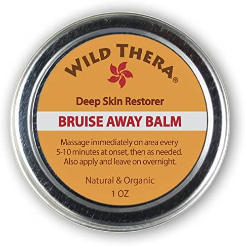 Wild Thera Concentrated Bruise Remedy. Healing Bruise Cream with Arnica and Turmeric. Bruise Treatment to Restore Natural Skin Tone & Color. Heal Injury & Wounds. Can be Used with Bruise Concealer.