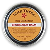 Concentrated Bruise Remedy. Natural First Aid. Bruise Cream with Herbs, Essential Oils, Arnica and Turmeric. For Injury, Wounds, Pain Relief. Use with Ice Pack, Bruise Concealer & Homeopathic.