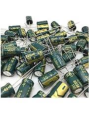 100pcs 35V 220UF 8×12mm 105C Aluminum Electrolytic Capacitor