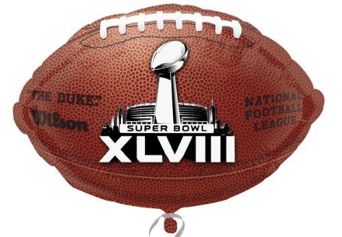 Shape Foil Ball (Anagram NFL 2014 Super Bowl XLVIII (48) 18