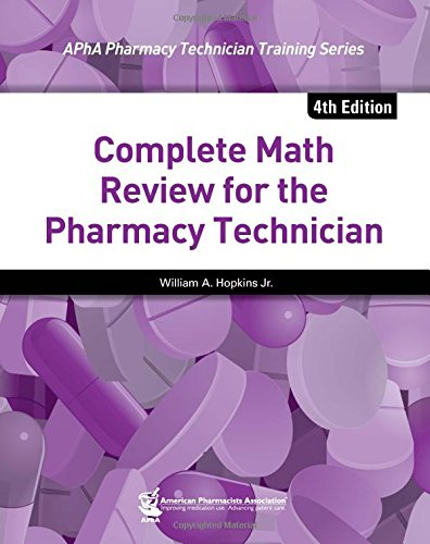 pharmacy technician certification quick-study guide pdf