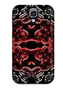 Heimie Perfect Tpu Case For Galaxy S4/ Anti-scratch Protector Case (organic Nuke Cool Abstract Cool)