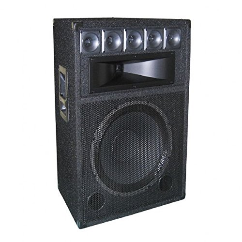 GEM Sound TR151 Carpeted DJ Speaker Passive