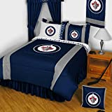 NHL Winnipeg Jets Hockey Comforter Set Queen/Full Bed