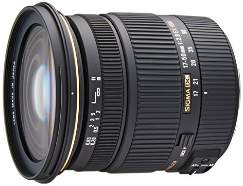 Sigma 17-50mm f/2.8 EX DC OS HSM FLD Large Aperture Standard Zoom Lens for Canon Digital DSLR Camera (Best 17 50mm Lens For Canon)