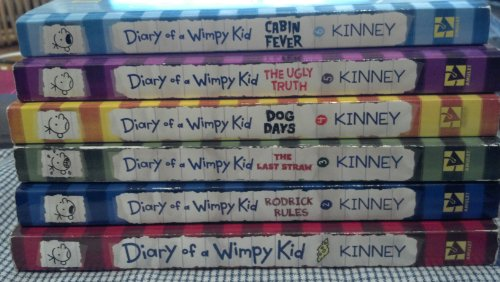 Librarika Diary Of A Wimpy Kid Rodrick Rules The Last Straw Dog Days The Ugly Truth Cabin Fever 6 Vols